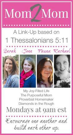 Teaching Inspiration + Mom 2 Mom Monday Linkup (#37!) - http://www.proverbialhomemaker.com/teaching-inspiration-mom-2-mom.html