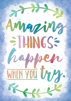 Inspire and motivate kids of all ages. Brightens any classroom! Poster measures x Inspirational Quotes for Kids & Teens - Educational Activities Motivational Quotes For Kids, Positive Quotes, Art Quotes, Life Quotes, Positive Classroom Quotes, Inspirational Classroom Posters, Quotes For The Classroom, Kids Inspirational Quotes, Quotes Kids