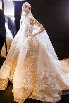 luxury wedding gown #weddings #beauty #fashion