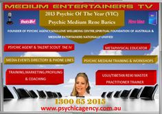 Psychic Agency Australia 1300-65-2015 to book a reading nationally