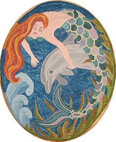 """Christine Little Design - """"Sea Frolic""""   To buy this pattern contact us at www.encompassingd... or call Toll Free 1-855-624-0370"""
