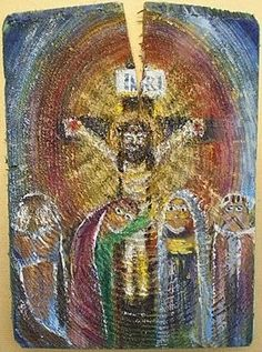 Pieta Easter, Cards, Painting, Easter Activities, Paintings, Draw, Playing Cards, Drawings, Maps