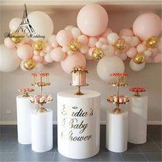 5 unids/set columnas de pedestal de pastel de boda para fiesta de mariage vestidos de boda decoración de la tienda