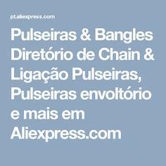 Pulseiras & Bangles Diretório de Chain & Ligação Pulseiras, Pulseiras envoltório e mais em Aliexpress.com