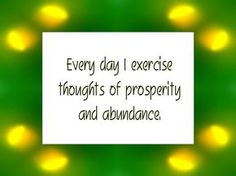 Daily Affirmation for August 10, 2013