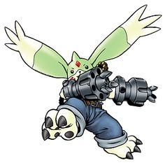 Gargomon - Champion level Beast Man digimon