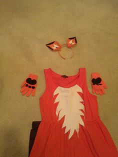 What Does the Fox Say? DIY Halloween vixen costume
