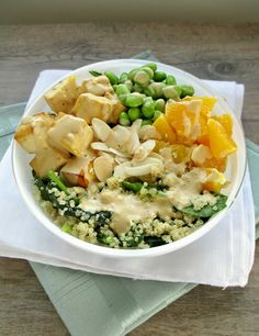 Roasted Tofu with Tangerines & Olives | Recipe | Tofu, Olives and Feta