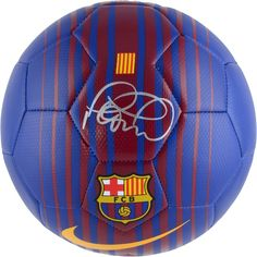 51d1b8b88 Philippe Coutinho F.C. Barcelona Autographed Nike Barca Soccer Ball