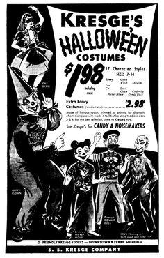 Nostalgia, vinyl costumes and plastic masks:)