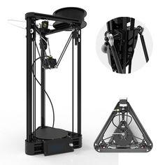Delta 3D Printer Kossel Axis Version DIY Kit 3d-printer 3d-metal kit
