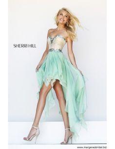 Fun Sherri Hill High Low Prom Dress