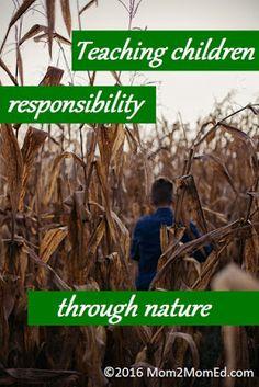 Teaching children responsibility through nature