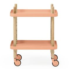 Block Table Cart // side table, end table