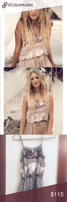 Spell & the Gypsy Xanadu Strappy Romper NWT XS 🔥 This is New with tags in the smoked pearl color.  Size extra small.  I trade for Spell.... Spell & The Gypsy Collective Other