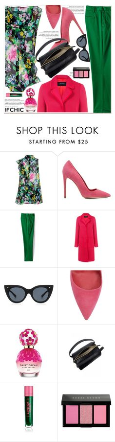 """""""Valentine's Day Style: Create with IFCHIC"""" by paculi ❤ liked on Polyvore featuring Marissa Webb, Dee Keller, Lands' End, Pink Tartan, Le Specs Luxe, Marc Jacobs, 10 Crosby Derek Lam, Lipstick Queen, Bobbi Brown Cosmetics and NYFW"""