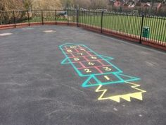 Rocket Hopscotch for Learning About Planets | Space ...