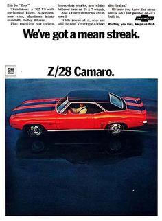 Chevrolet Camaro  Z/28 ....1969