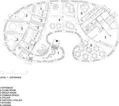 """Escuela infantil """"Tellus"""" / """"Tellus"""" Nursery School - Archkids. Arquitectura para niños. Architecture for kids. Architecture for children.#more"""