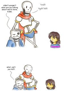 Skeletwins, you could say by zarla on DeviantArt