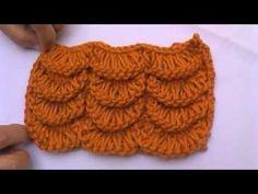 Instrucciones del punto mandarina o caramelos de limón tejido en dos agujas o palillos