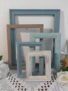 Beach Wedding Frame Rustic Shabby Chic by ElegantSeashore on Etsy
