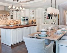 Kitchen Farm Tables Design, Pictures, Remodel, Decor and Ideas - page 7