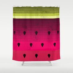 Watermelon Shower Curtain by Kakel - $68.00