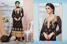 204-Georgette+And+Net+Embroidery+Designer+Black++Anarkali+Suit.jpg (1600×1066)