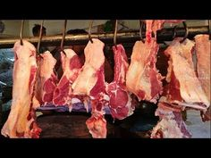 Morning Fresh Cow Meat Fillet | Cow Meat Chopping in Meat Market | Beef ...