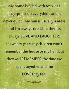 Being a mom and having them be the center of my world is the best possible feeling ever!! Wouldn't give it up for anything!! Love that I have been able to stay home with my kids in the years they are young enough to still enjoy me spending time with them. <3