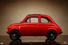 Kindig-It Design of Salt Lake City have something of a reputation for quality. This Fiat 500 is a case in point: want your baby Fiat . Fiat Abarth, Fiat Cinquecento, Fiat 600, Vespa, Car Cat, Ferrari, Fiat Cars, Automotive Design, Auto Design