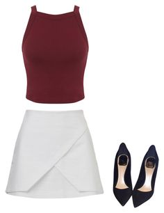 """"""""""" by explorer-14484443162 on Polyvore featuring косметика, Miss Selfridge и Christian Dior"""