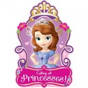 Sofia the First Party Invitations | 8 ct