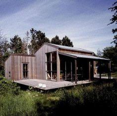 Hanne Dalsgaard and Henrik Jeppesen - Danish cabin in Orderup Næs