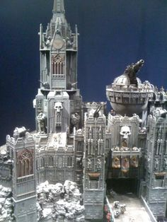 Apocalypse 40K - The 40K Daily Buzz: Space Wolves Fortess at Warhammer World