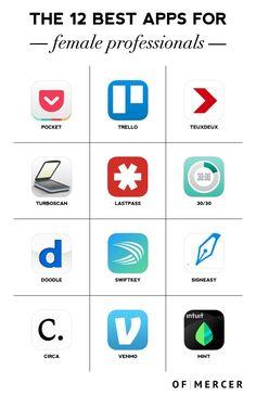 Best Apps For Professional Women | Of Mercer Blog | Main Image