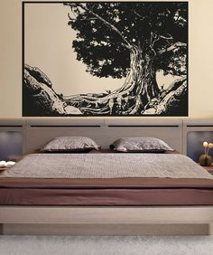 Vinyl Wall Decal Sticker Tree Portrait OSAA1333s by Stickerbrand, $74.95