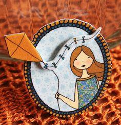 Love this brooch of Que mona! shop: http://itsoops.blogspot.com.es/