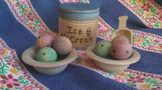 Simple Gifts Original Design Wooden Ice Cream by SimpleGiftsToys, $18.00