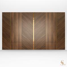 Wooden Wall Design, Wall Panel Design, Wooden Wall Panels, Wall Decor Design, Decorative Wall Panels, Wooden Wall Art, Decorative Objects, Wardrobe Door Designs, Wardrobe Design Bedroom
