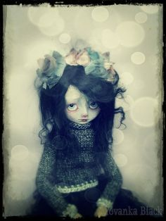 OOAK Artdoll  Flora by YovankaBlack on Etsy, $285.00