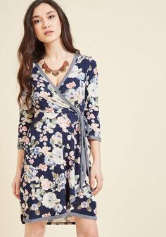 #AdoreWe #ModCloth ModCloth Bliss by Bit Wrap Dress in M - AdoreWe.com
