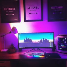 Repost From: @brenaewright My complete setup. ������ . . #gamesetup #pc #battlestation #desk #room #mypcgear #nzxt #curved #monitor #keyboard #lamp #display #cpu #logitech #mypcgear http://xboxpsp.com/ipost/1492575754671884265/?code=BS2sb2plAfp