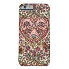 classic floral abstract case