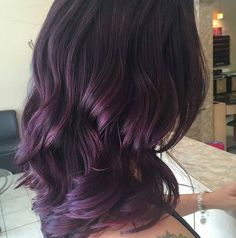Looking for a new fall look? Give us a call and be sure to ask for @hairby_elizabeth_ #ct #salon #beauty #fashion #bayalage #beautiful #falllooks #pamper #purplehair #modernsalon #cuttersedgesalon #Connecticut