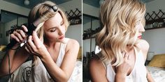 Le Fashion Blog How To Get The Perfect Loose Curls Curling Iron Hair Inspiration Bob Haircut  Via Feel Flourish photo Le-Fashion-Blog-How-To-Get-The-Perfect-Loose-Curls-Curling-Iron-Via-Feel-Flourish.jpg