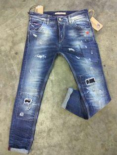 Brokers jeans #patched#destroyed#vintage