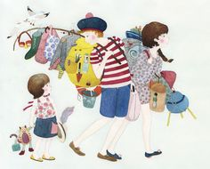 Illustrations |  by Anna Emilia Laitinen