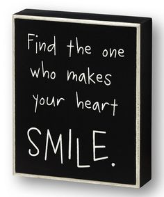 Loving this 'Find the One' Wall Sign on #zulily! #zulilyfinds